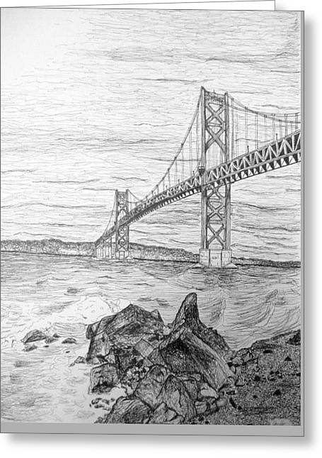 Mt. Hope Bridge Greeting Card