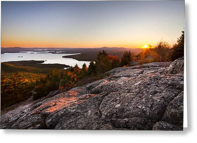 Mt. Major Summit Greeting Card