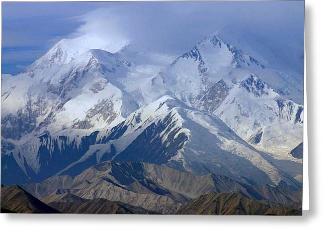 Greeting Card featuring the photograph Mt. Mckinley Alaska by Jack G  Brauer
