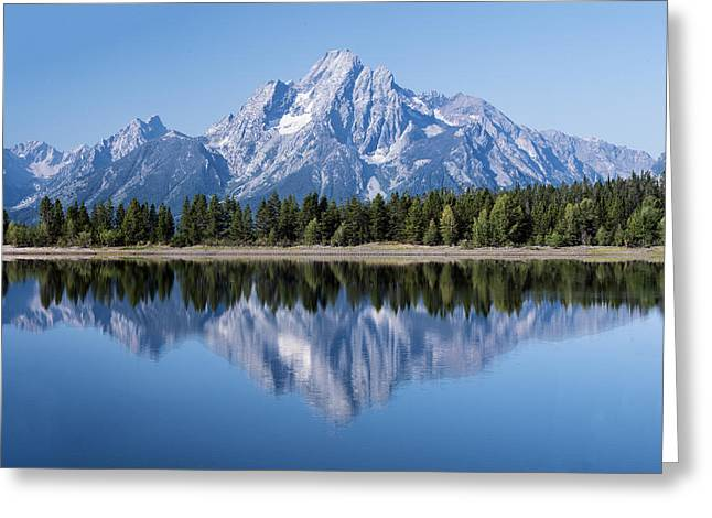 Mt. Moran Grand Tetons Greeting Card