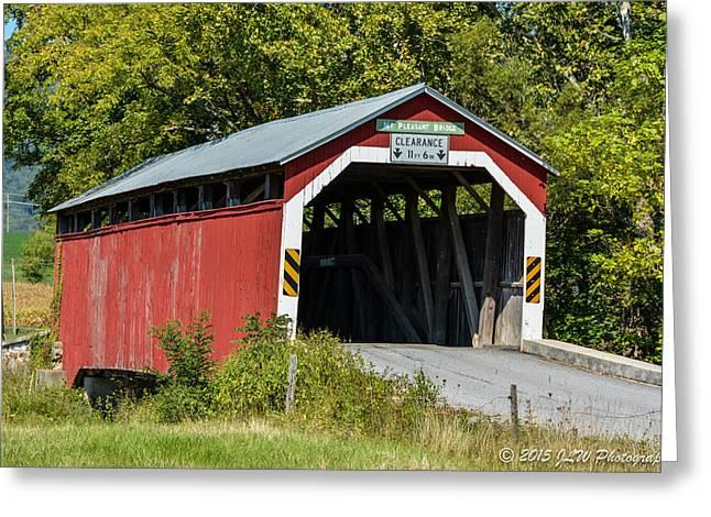 Mt. Pleasant Covered Bridge Greeting Card