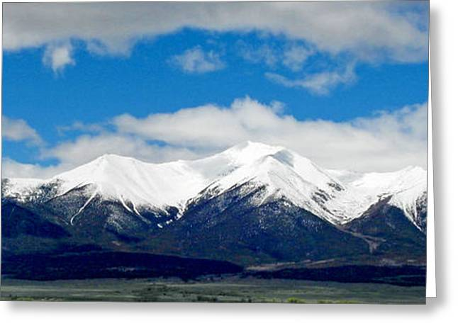 Mt. Princeton Colorado Greeting Card