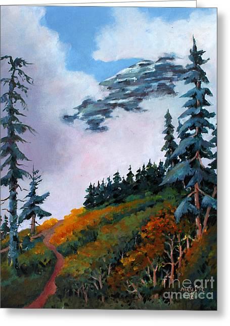 Mt. Rainier 4 Greeting Card