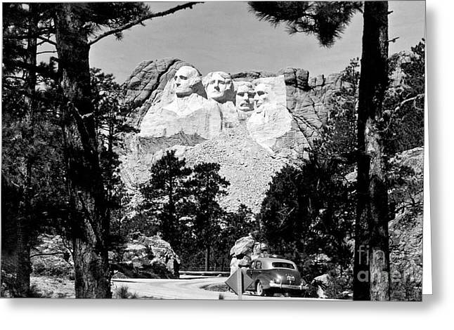 Mt Rushmore Greeting Card by American School