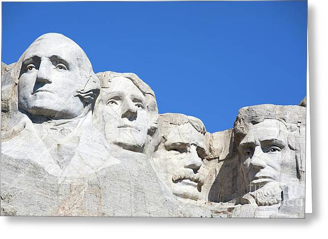 Mt. Rushmore Greeting Card