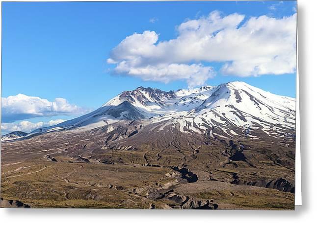 Mt Saint Helens Greeting Card