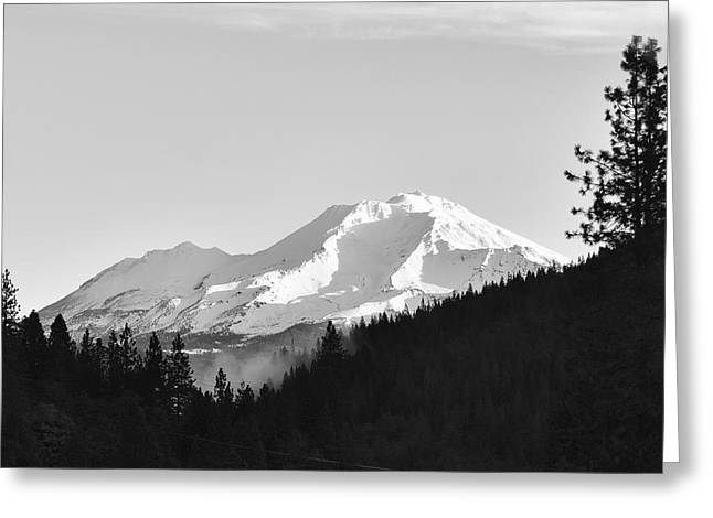 Mt Shasta Greeting Card