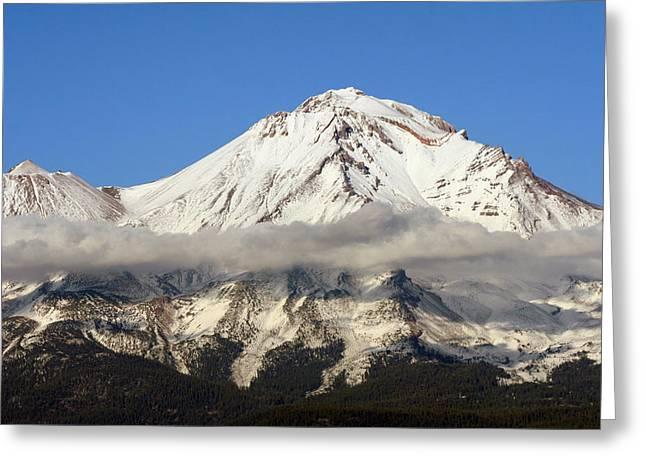 Mt. Shasta Summit Greeting Card