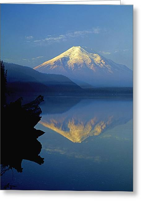1m4907-v-mt. St. Helens Reflect V  Greeting Card