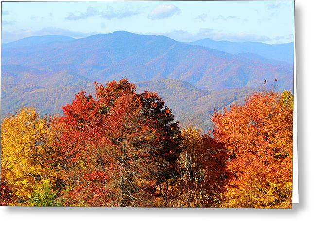 Mt. Sterling Greeting Card by Alan Lenk