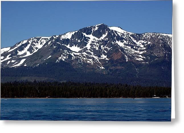 Mt Tallac Greeting Card by LeeAnn McLaneGoetz McLaneGoetzStudioLLCcom