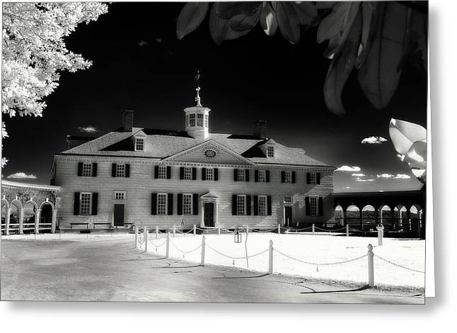 Mt Vernon Greeting Card by Paul Seymour