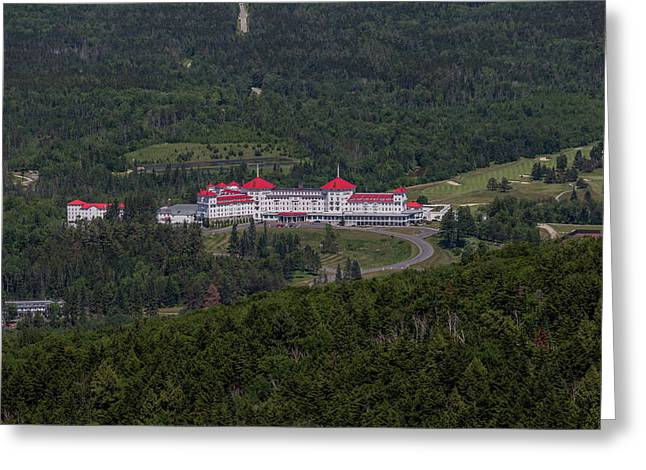 Mt. Washington Hotel Greeting Card by Brian MacLean