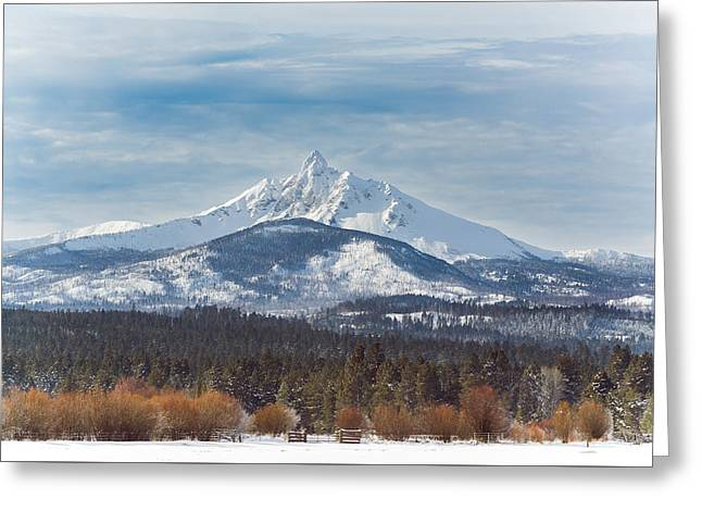 Mt. Washington Greeting Card by Joe Hudspeth
