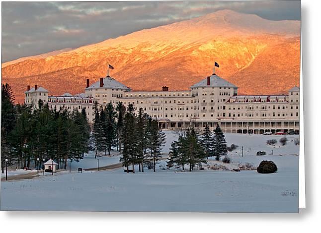 Mt. Washinton Hotel Greeting Card