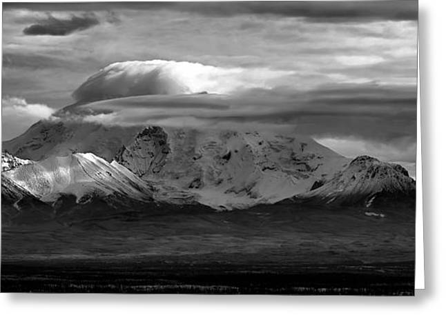 Mt Wrangell Greeting Card