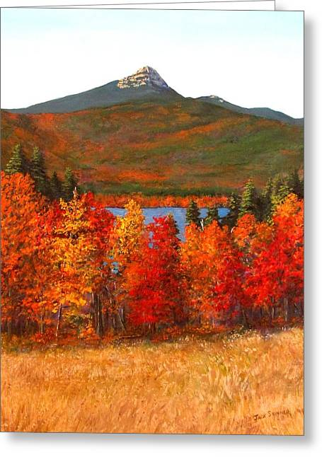 Jack Skinner Paintings Greeting Cards - Mt.Chocorua Greeting Card by Jack Skinner
