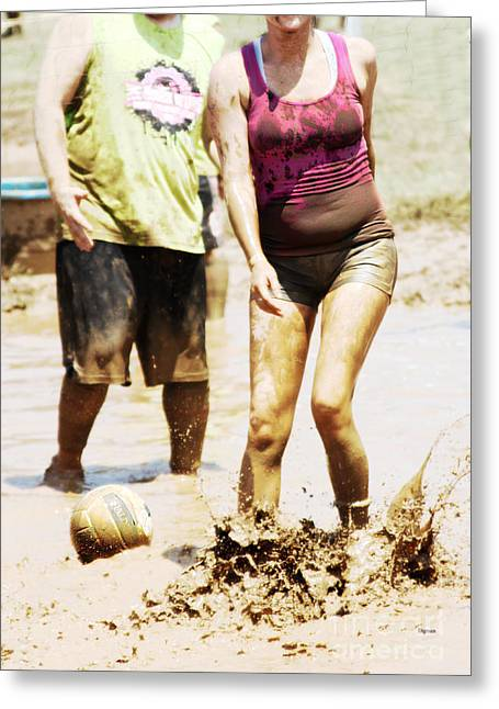 Mud Belly  Greeting Card by Steven Digman