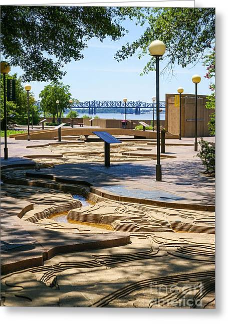 Mud Island Park Greeting Card