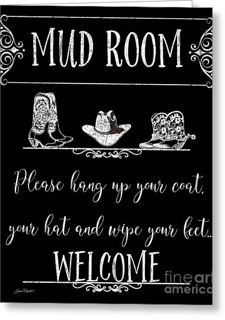 Mud Room-d Greeting Card