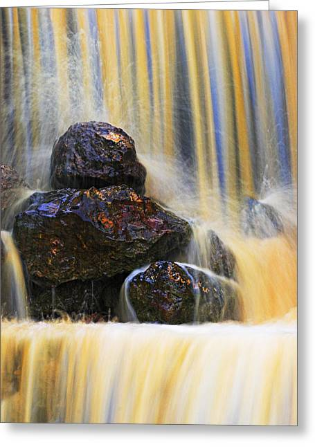 Muddy Water-st Lucia Greeting Card by Chester Williams