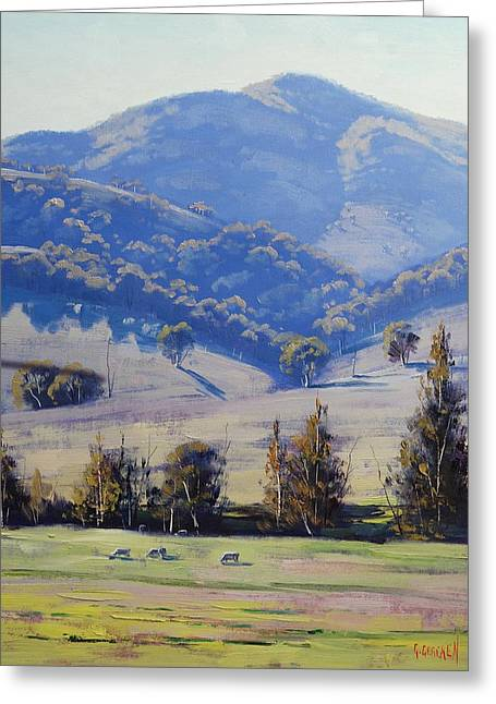 Mudgee Hills Greeting Card