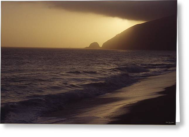 Mugu Rock - Pacific Coast Highway Greeting Card by Soli Deo Gloria Wilderness And Wildlife Photography