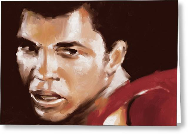 Muhammad Ali 551 1 Greeting Card