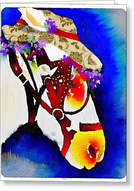Mule Days Greeting Card