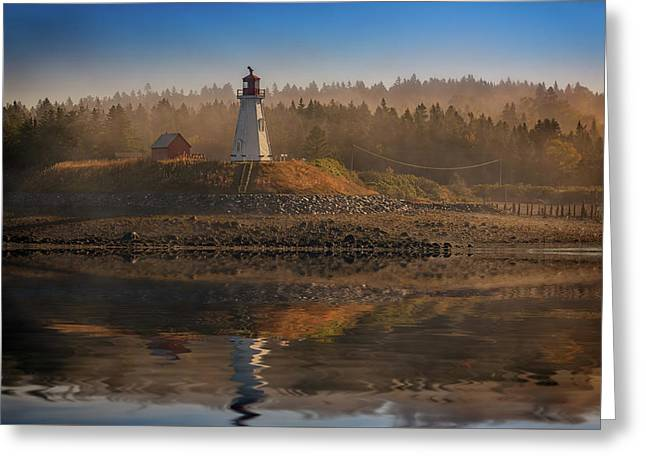 Mulholland Point Lighthouse Greeting Card