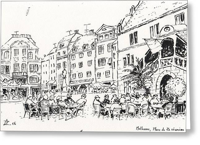 Mulhouse  Greeting Card