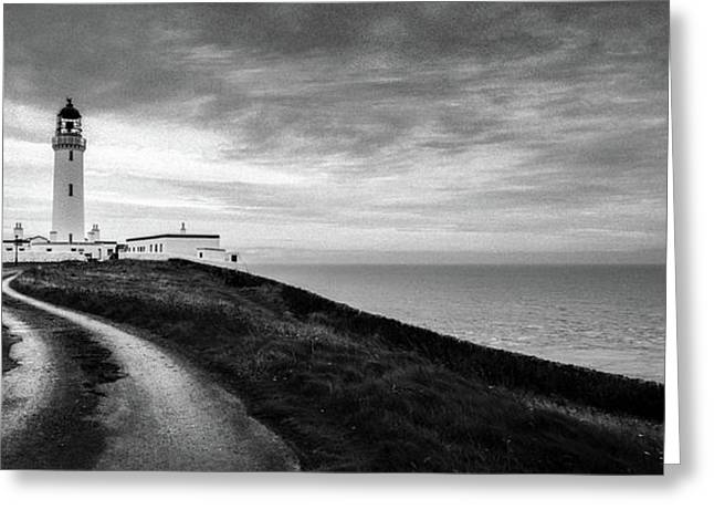 Mull Of Galloway Lighthouse Greeting Card