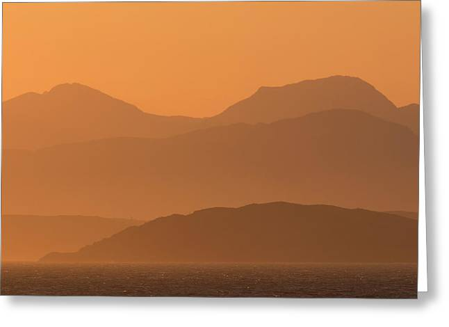 Mull Sunrise Greeting Card