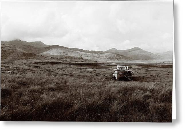 Mull Tidal Flats Greeting Card by Jan W Faul