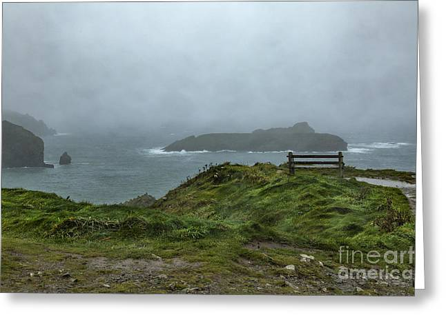 Greeting Card featuring the photograph Mullion Cove by Brian Roscorla