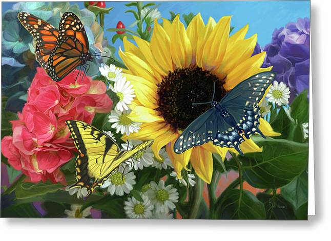 Multicolor Greeting Card
