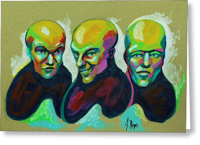 Multiple Personality Greeting Card