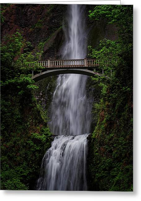 Multnomah Falls 3 Greeting Card