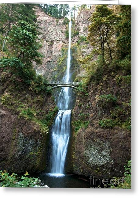 Multnomah Falls Greeting Card