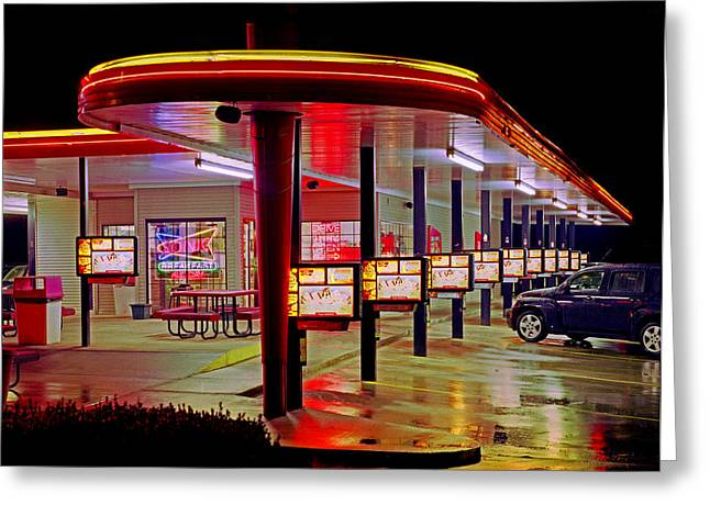 Munfordville Sonic Drive-in Greeting Card