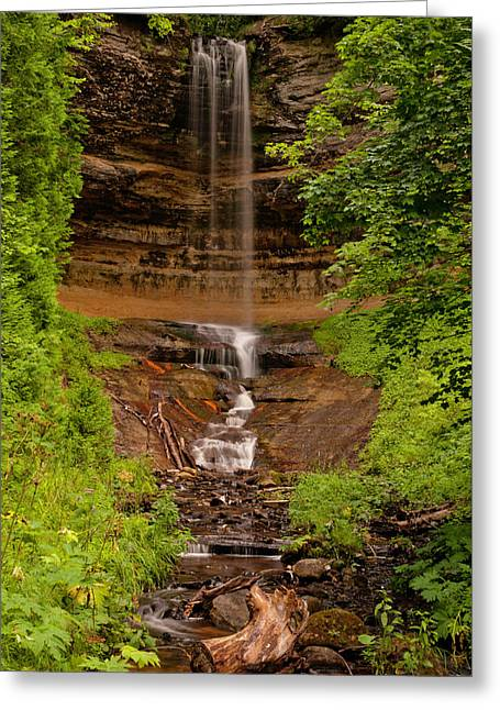 Munising Falls Greeting Card