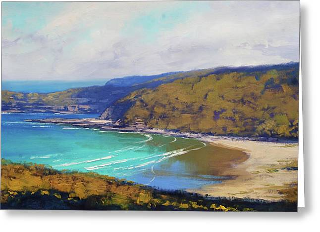 Munmorah Coastline Australia Greeting Card by Graham Gercken