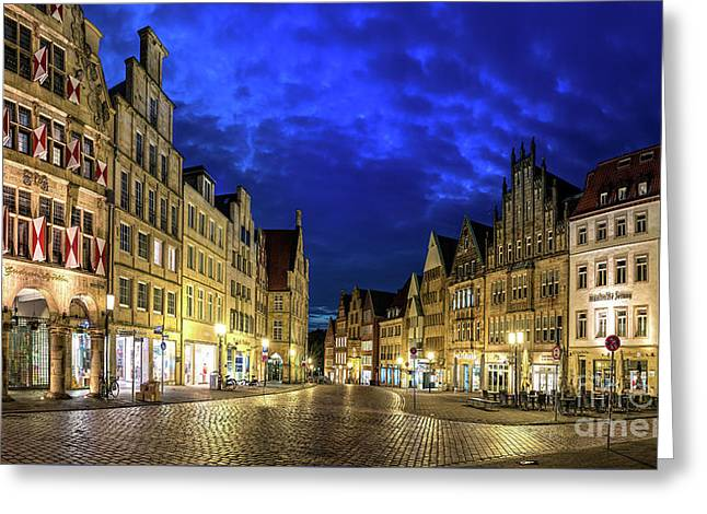 Munster Prinzipalmarkt Greeting Card