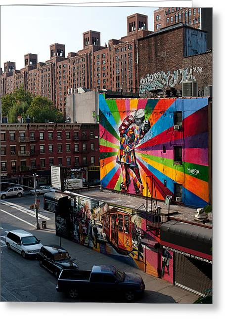 Murales In New York Greeting Card