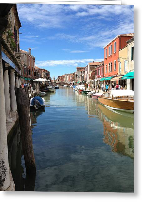 Murano Greeting Card