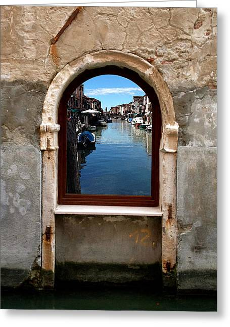 Murano Reflection Greeting Card