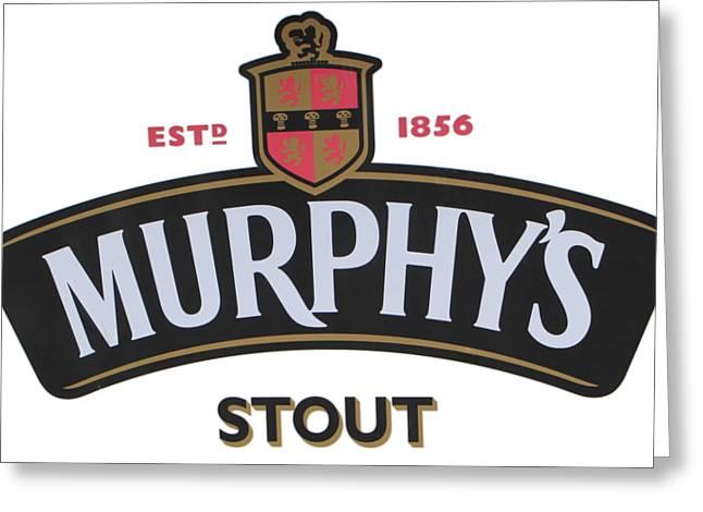 Murphys Irish Stout Greeting Card