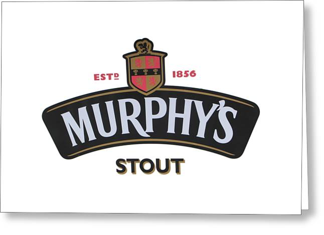Murphys Irish Stout Greeting Card