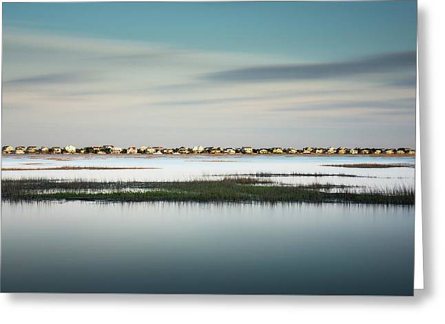Murrells Inlet Marsh Greeting Card by Ivo Kerssemakers