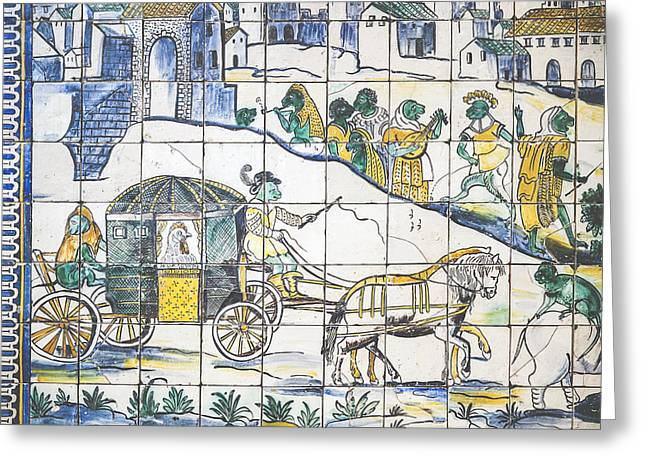 Museu Do Azulejo Greeting Card by Andre Goncalves
